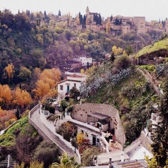 El otoño en Sacromonte foto. Jan Bosowski